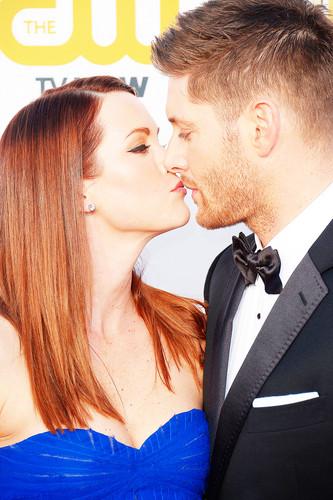 Jensen Ackles Hintergrund titled Jensen and Danneel