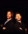 Jensen and Jared Padalecki  - jensen-ackles photo