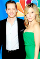 Jesse Lee Soffer and Sophia semak, bush