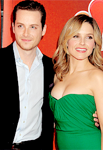 Jesse Lee Soffer and Sophia struik, bush