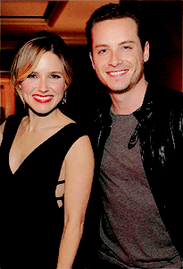 Jesse Lee Soffer and Sophia buisson, bush