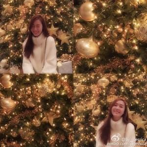 Jessica's Weibo update