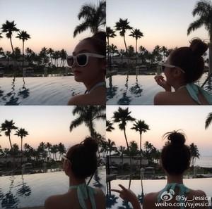 Jessica's Weibo 업데이트