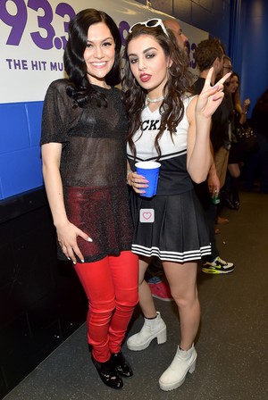 Jessie J and Charli xcx