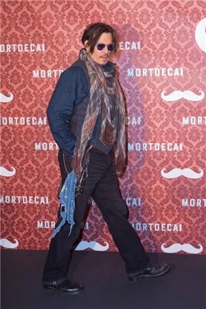 Johnny 'Mortdecai' premiere 2015