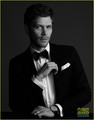 Joseph morgan photoshoot in JustJared.com
