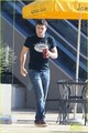 Josh Hutcherson Licks His Smoothie Cup With No Shame