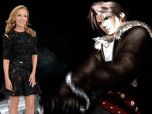 KYLIE MINOGUE AND FAKE ファン SQUALL LEONHART