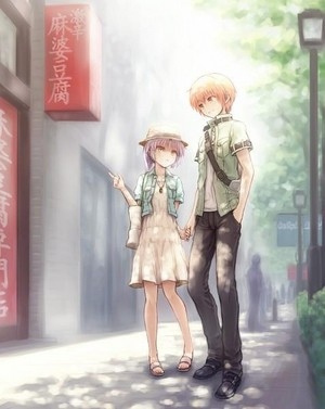 Kanade and Yuzuru!~