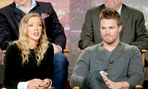 Katie and Stephen at the TCA's 2015
