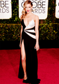 Katie at the Golden Globe's 2015