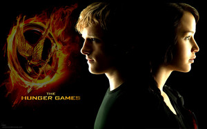 Katniss&Peeta The Hunger Games