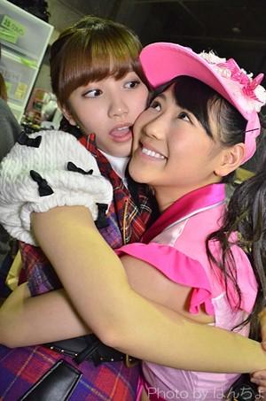 Kato Rena and Nishino Miki