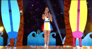 Katy Perry half time mostrar