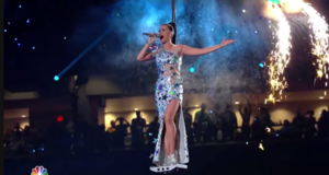 Katy Perry half time दिखाना