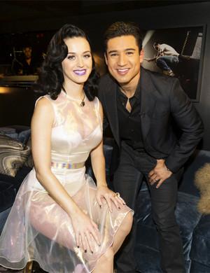 Katy and Mario