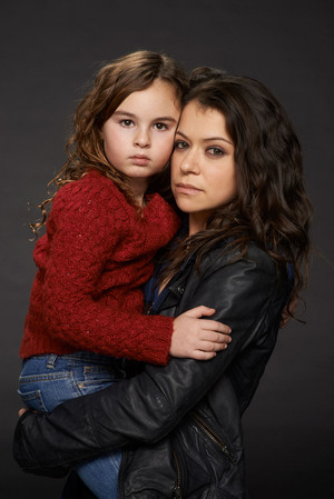Kira and Sarah Manning Season 2 Promotional Picture