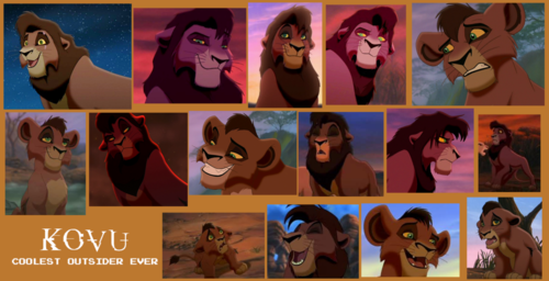 The Lion King 2:Simba's Pride wallpaper possibly containing anime titled Kovu collage