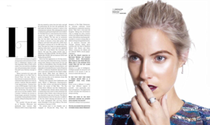 Laura Ramsey - Prestige Indonesia Photoshoot - September 2014