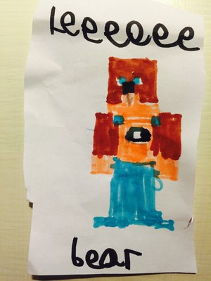Lee Bear by Isaac