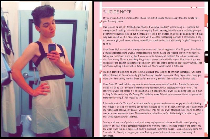 transgender Leelah alcorn