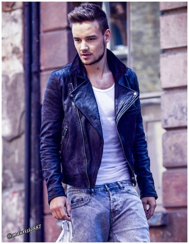 One Direction wallpaper possibly containing an outerwear, a street, and a business suit called Liam Payne 2015