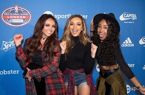 Little Mix at the NBA Global Game