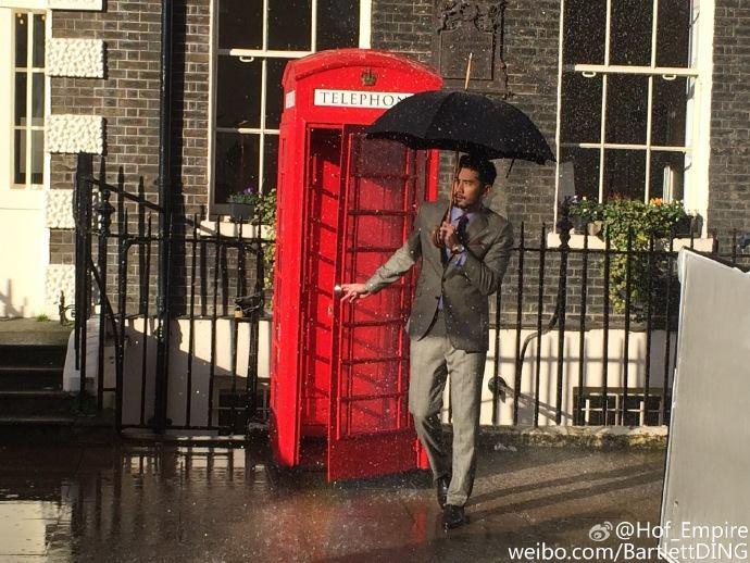 London photoshoot