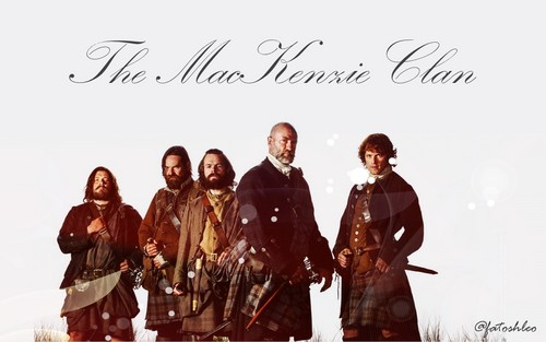 Outlander 2014 TV Series karatasi la kupamba ukuta entitled MacKenzie Clan-wallpaper