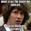 Majin Buu candy