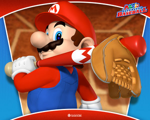 Mario Superstar Baseball वॉलपेपर