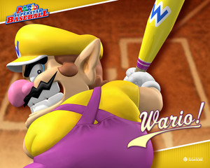 Mario Superstar Baseball wolpeyper