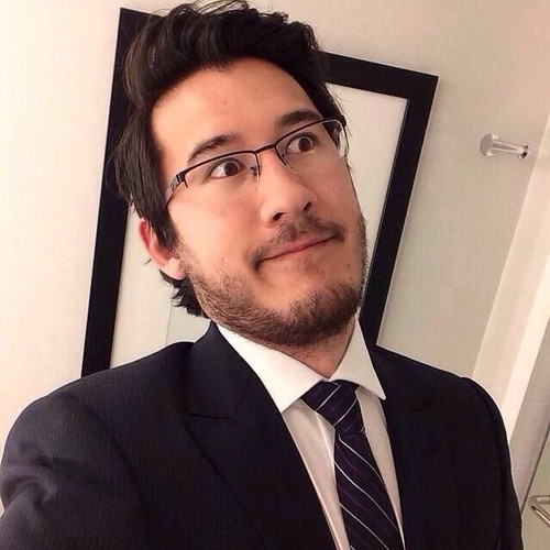 Markiplier پیپر وال with a business suit, a suit, and a کوائف, پانسٹراپی entitled Mark Fischbach