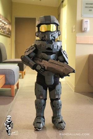 Master Chief Chibi 3