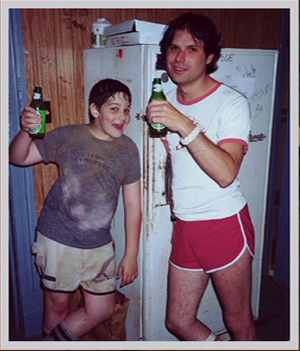 Michael Ian Black and Liam Norton in Wet Hot American Summer