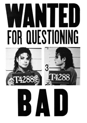 Michael Jackson Bad fanart