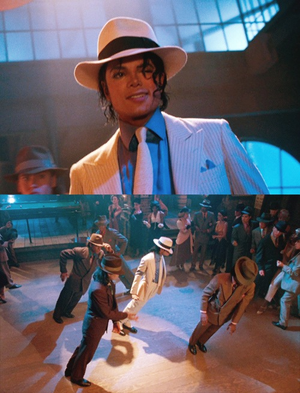 Michael Jackson Smooth Criminal fanart