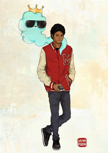 how to draw michael jackson thriller