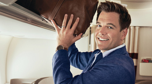 Michael Weatherly wallpaper probably with a fedora entitled Michael Weatherly// CBS Watch Magazine 2014