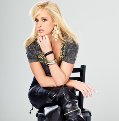 Michelle Mccool Wallpaper Containing A Hip Boot Entitled Michelle Mccool