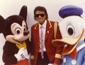 Micky Mouse, Michael Jackson And Duck - michael-jackson photo