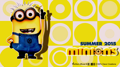 Despicable Me Minions wallpaper entitled Minions 2015 by DaVe