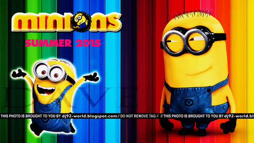 Despicable Me Minions wallpaper called Minions 2015 by DaVe