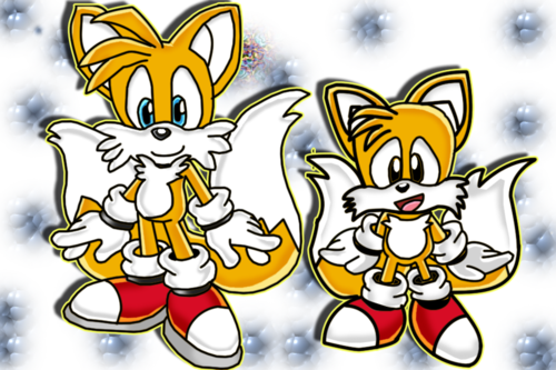 "Miles ""Tails"" Prower wallpaper entitled Modern Classic Tails"