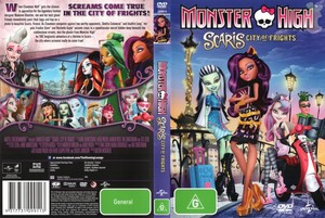 Monster High Scaris City of Fights (DVD)