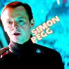 Star Trek (2009) photo containing a portrait called Montgomery Scott