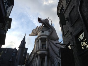 My winter break at harry potter land