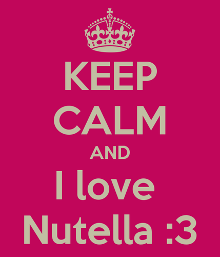 Nutella Hintergrund entitled NUTELLA!!!!!!!!!!!!