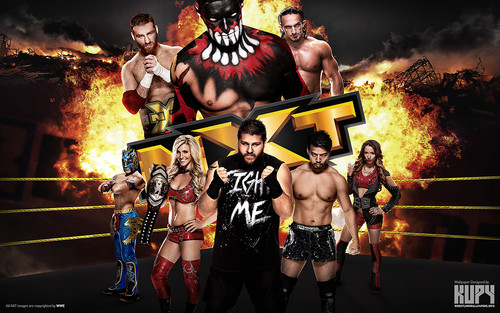 WWE wallpaper titled NXT R-Evolution