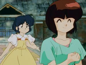 Nabiki and Akane Tendo
